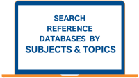 reference databases by subjects & topics